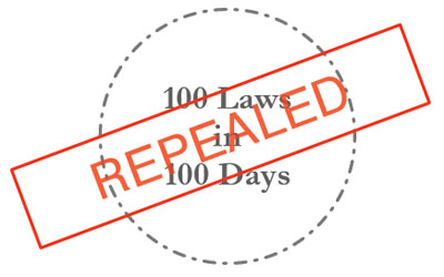 Repeal 100 Laws Project