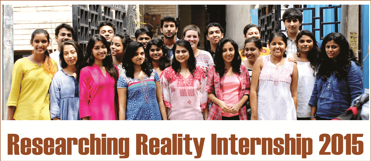 Researching Reality Interns 2015