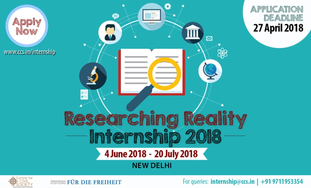 Apply for Researching Reality Internship 2018