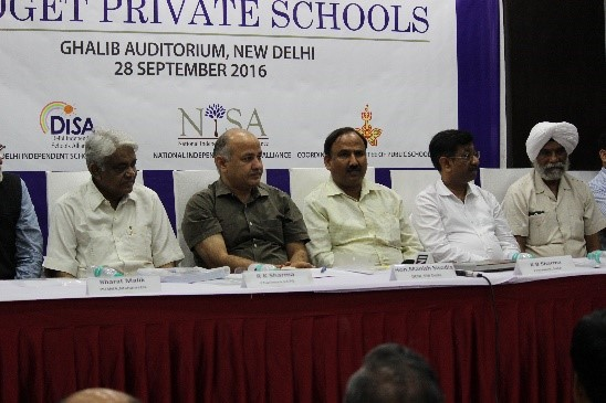 Manish Sisodia shows solidarity with BPS leaders