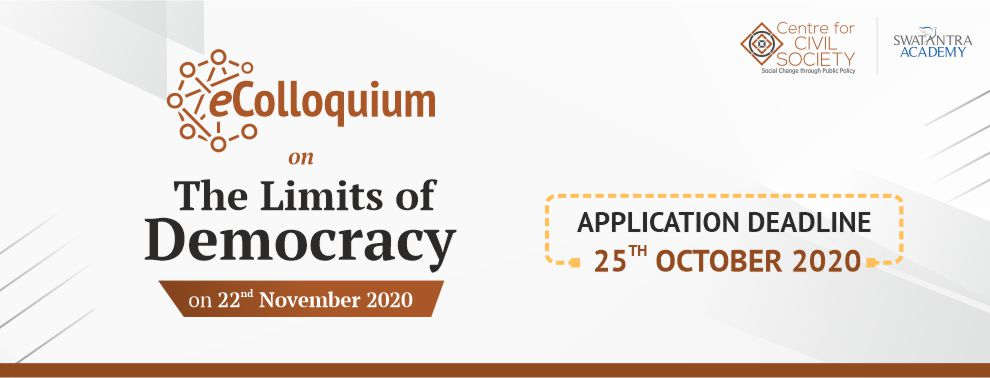 eColloquium on Liberty, Democracy and Rule of Law | CCS India