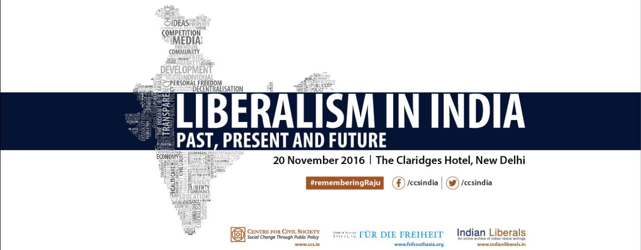 Liberalism in India | Past, Present and Future - A Tribute to S V Raju