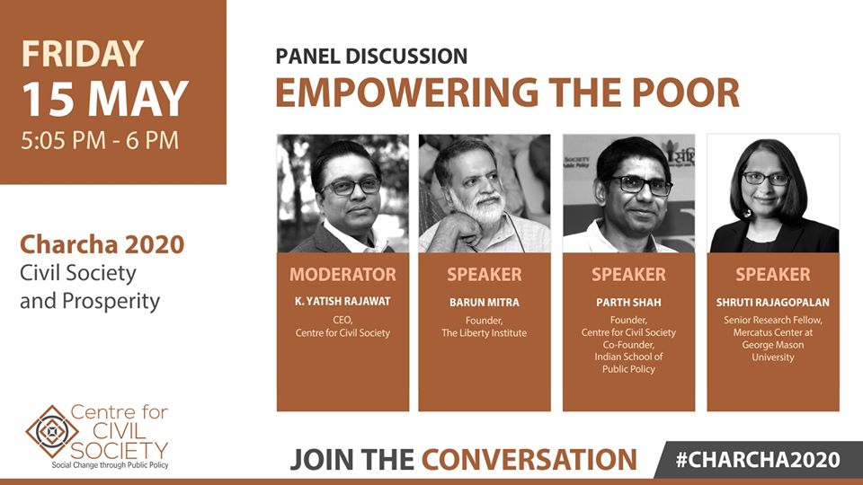 CCS at Charcha 2020: How can Civil Society Alleviate Poverty?