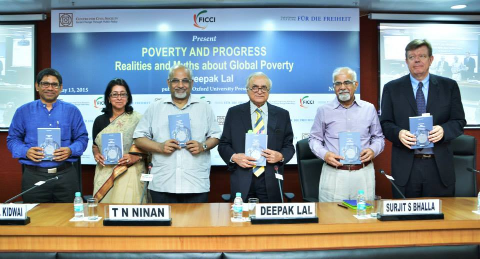 Book Launch: Poverty and Progress by Prof Deepak Lal