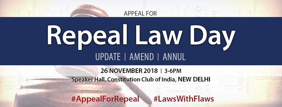 National Repeal Law Day 2018