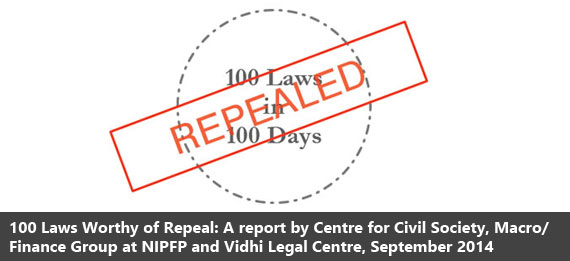 100 Laws repealed in 100 Days