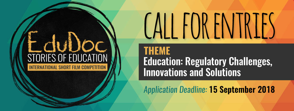 EduDoc 2018 - Call for Entries