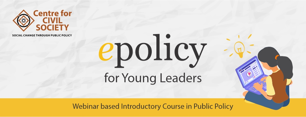 epolicy for Young Leaders | Webinar based introductory course in public policy
