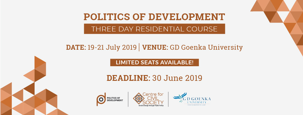 Politics of Development or POD | 2019