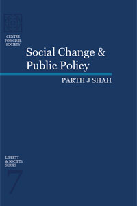 Liberty & Society Series 7: Social Change & Public Policy