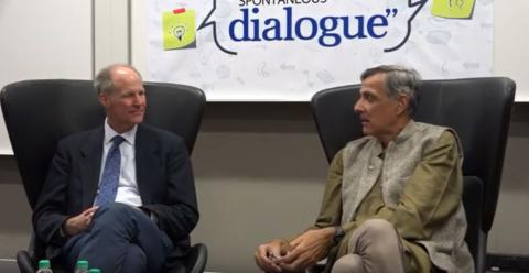 Spontaneous Dialogue: Lessons from The American Political Landscape