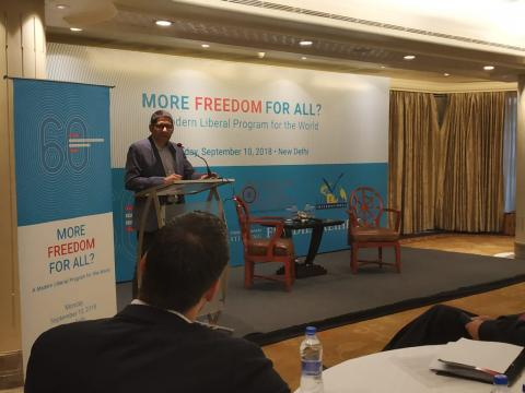Exploring ideas of freedom and liberty- 60 years of FNF