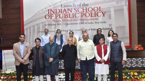 Launch of the  Indian School of Public Policy