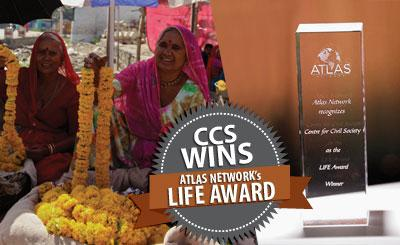 CCS Wins Atlas Network's LIFE Award