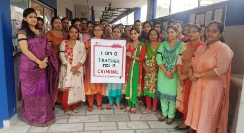 Pledging Teacher safety this Teachers Day