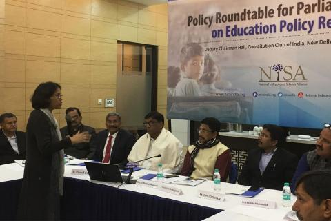 Parliamentarians' Roundtable on Education Policy Reforms