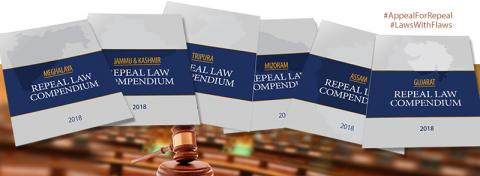 LAUNCH OF STATE COMPENDIUMS OF LAWS FOR REPEAL