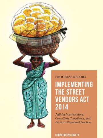Progress Report on Implementing the Street Vendors Act 2014